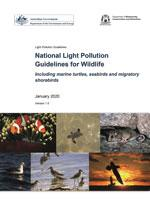 Front page light pollution guidelines